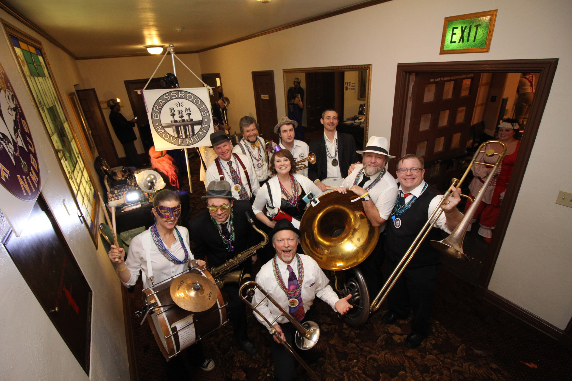 brassroots at the ball